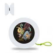 New Style Animal Dinosaur YoYo Ball Professional Responsive Yo-Yo Bearing Spinning Ball String Spin Toys-White