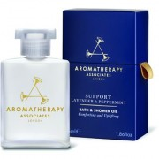 Aromatherapy Associates Support Lavender and Peppermint Bath and Shower Oil (55ml)