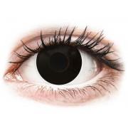 ColourVUE Crazy Lens Blackout - napi lencsék dioptria nélkül (2 db lencse)