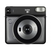 Fujifilm Kit Cámara Instantánea FUJIFILM Instax Square SQ6 (Graphite Grey - Obturación: 1.6-1/400 s - 2 Pilas CR02 - 62x62mm)