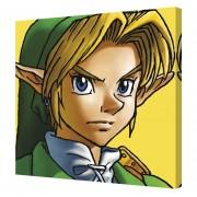 Cuadro Decorativo Link De Legend Of Zelda Nintendo