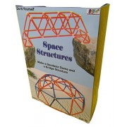 Kutuhal Space Structures Making Kit. Make a Geodesic Dome and a Bridge StructureDo It Yourself.