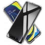 Samsung Galaxy A80 Hybride Back Cover Transparant