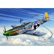Revell - P-51D Mustang katonai repülő makett revell 4148