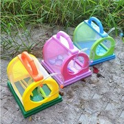 Kids/Children Bug Insect Feeding House Cage with Magnifier & Tweezer Kit Toy
