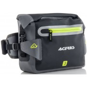 Acerbis No Water 3L Paquete de cintura Negro Gris 0-5l