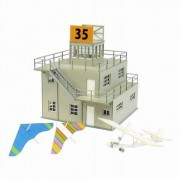 1/144 Aviation Scene Series Tower Type B (Paper Craft)