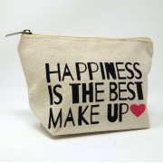 puroBIO cosmetics Modern Make-up Bag - 01 Happiness is the best Make-up
