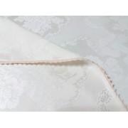 Fata de masa damasc de lux Ivory 350x160 cm
