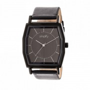 Simplify The 5400 Leather-Band Watch - Black SIM5404