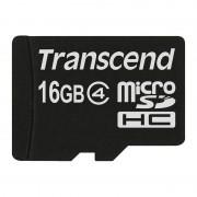 Card Transcend microSDHC 16GB Clasa 4
