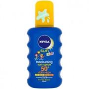 Nivea Sun Kids spray solar colorido para crianças SPF 50+ 200 ml