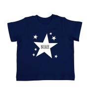 YourSurprise Baby T-shirt - Korte mouw - Navy - 62/68