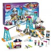 Lego fiends lo ski lift del villaggio invernale