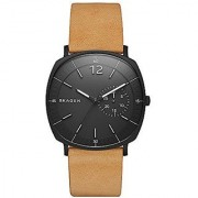 Skagen Analog Black Square Mens Watch-SKW6257