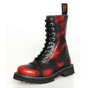 cipele KMM 10 pinhole - Crvena / crna - 100
