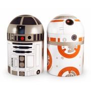 Star Wars voorraadbus tin droids R2-D2 en BB-8 (set van 2)