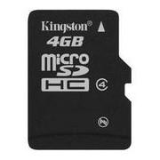 Карта памет Kingston 4 GB Micro SD Card