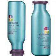 Pureology Strength Cure Colour Care duo di shampoo e balsamo rinforzante per capelli colorati 250 ml
