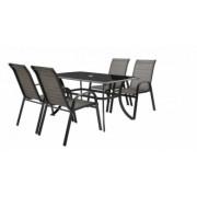 Set masa si patru scaune HECHT HONEY