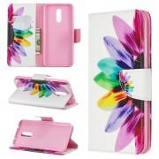 Bolsa tipo Carteira Wonder Series para Nokia 3.2 - Flor