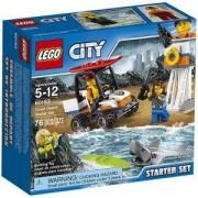 Конструктор ЛЕГО СИТИ - Начален комплект, LEGO City Coast Guard, 60163