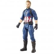 Hasbro Marvel Figura Titan Hero Series Infinity War Capitan America