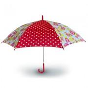 Paraplu dames rozen rood Basil Rosa
