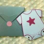 Invitaţie de botez Little Star