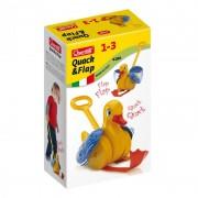 Jucarie interactiva Ratusca Quack&Flap Quercetti, 1 an+