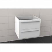 Ansamblu mobilier Riho cu lavoar 80cm gama Broni, SET 05 Acryl