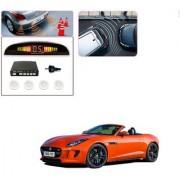Auto Addict Car White Reverse Parking Sensor With LED Display For Jaguar F-TYPE