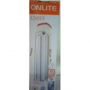 OnLite L5055 40-Watt Rechargeable LED Emergency light 220W Tube 15 hours back up and can vary the lighting