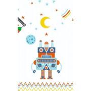 Djeco Umbrela colorata Roboti