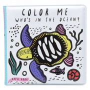 Wee Gallery Livre de Bain Color Me - Who's in The Ocean