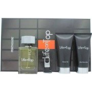 Penthouse Life On Top Gift Set 125ml EDT Sprej + 150ml Aftershave Balm + 150ml Duschgel + Nyckelring