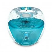 T-light Urn met waxine: Tiffany-Blue (90ml)
