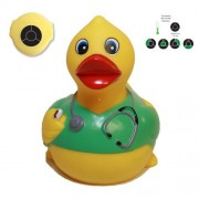 Rubber Ducks Family Temperature Nurse Rubber Duck, Waddlers Brand Bathtub Toy Baby Safe Bath Tool Th