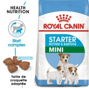 Royal Canin Mini Starter Mother & Babydog pour chien - 2 x 8,5 kg