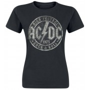 AC/DC High Voltage 1975 Damen-T-Shirt - Offizielles Merchandise