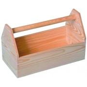 Cutie lemn pentru scule 420x210x260 mm