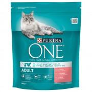 Purina ONE Adult Salmone & Cereali integrali - % 2 x 3 kg
