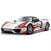 Bburago 918 Spyder Racing Porsche, White