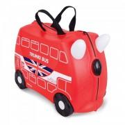 Trunki Boris The Bus - Bolsa De Viaje Negro Rojo