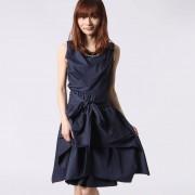【SALE 50%OFF】アウリィ AULI スカート付2wayワンピース (ネイビー)