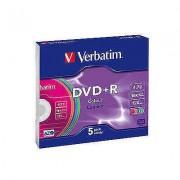 DVD-RW SERL 4X 4.7GB Matt Silver Jewel Case (5 buc)