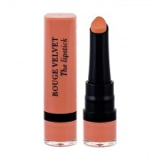 BOURJOIS Paris Rouge Velvet The Lipstick rossetto effetto matt 2,4 g tonalità 01 Hey Nude! donna