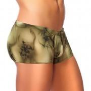 Male Power Skyview Pouch Short Boxer Brief Underwear Olive 153-062