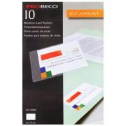 Buzunar autoadeziv pentru carti de vizita 60 x 95 mm Probeco