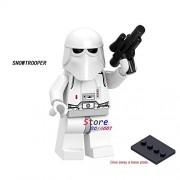 Generic 50pcs Star Wars OBI-Wan Kenobi Emperor's Royal Guard Stormtooper Han Solo Rebel Pilots Figure Building Block for Children Toy JC030